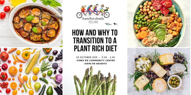 Event: How and Why to Transition to a Plant Rich Diet