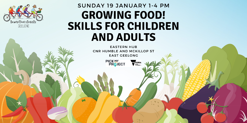 Growing Food – Skills for Adults and Children